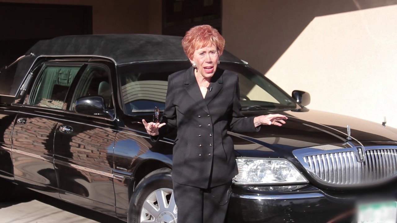 Marilyn Hickey at a Funeral Home!!