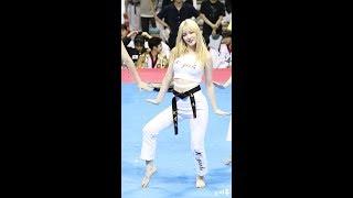 170731 라붐(LABOUM) 율희(Yulhee) 태권체조 직캠 (Taekwon Aerobic) [세계태권도한마당] by 비몽