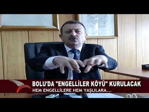 """BOLU'DA """"ENGELLİLER KÖYÜ"""" KURULACAK"""