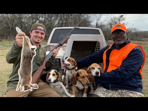 Rabbit Hunting With DOGS! {Catch Clean Cook} Fried Rabbit