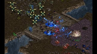 Bisu (P) v Jaedong (Z) on Fighting Spirit- StarCraft  - Brood War REMASTERED