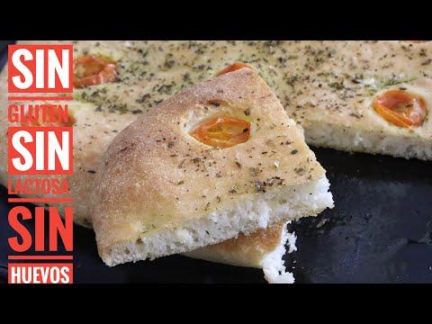 FOCACCIA receta SIN GLUTEN , sin lactosa (pocos ingredientes ) - YouTube