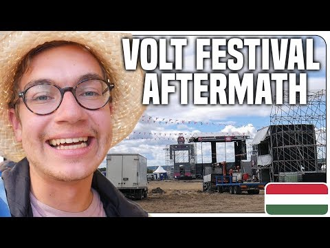 Festival Aftermath!? & Exploring Sopron in Hungary - Travel Vlog