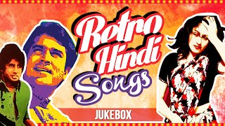 Retro Hindi Songs Jukebox   Hit Old Bollywood Songs Collection