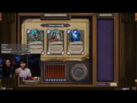 Hearthstone Arena - Disguised Toast Play Arena with Hafu!