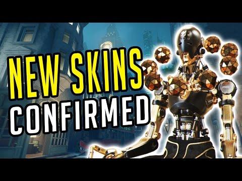 Overwatch - 2017 SKINS + LOW GRAVITY In Custom Games!