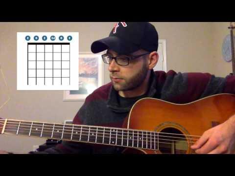 Guitar Chord of the Day: C#m7 (Glen Hansard 'Say I