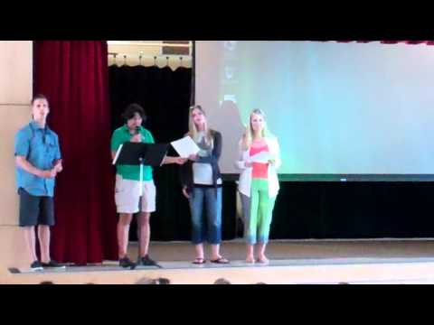 Rachel Carson Elementary School presenation of the President's Award