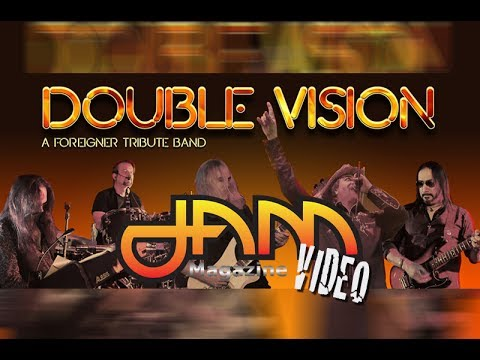 "DOUBLE VISION Foreigner Tribute ""Cold As Ice""  2016 HOB Dallas JAM Magazine"