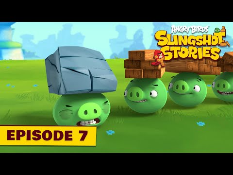 Angry Birds Slingshot Stories Ep. 7 | Pigs will fly
