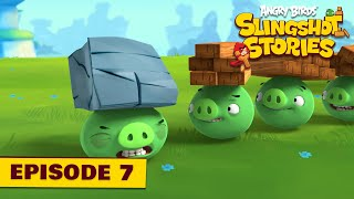 Angry Birds Slingshot Stories Ep. 7   Pigs will fly