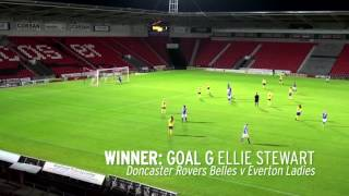Everton Ladies Defender Scores From Halfway