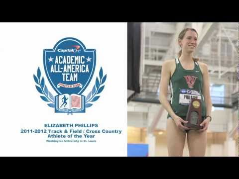 Liz Phillips, Academic All-America: Track & Field / Cross Country Athlete Of The Year