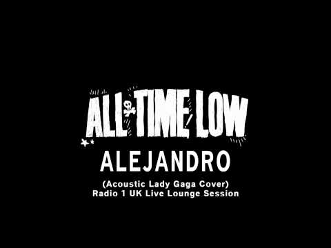 All Time Low - Alejandro (Acoustic Lady Gaga Cover) (Live)