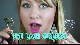 Best and worst eyelash curlers for hooded eyes!