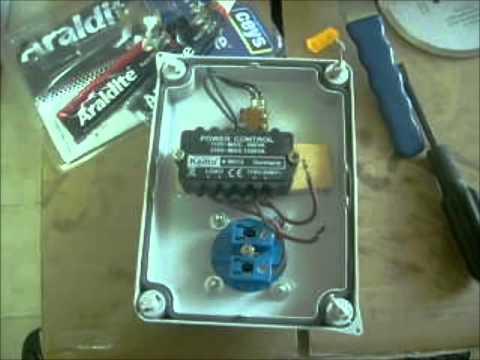 Regulador eléctrico de velocidad de motor - YouTube
