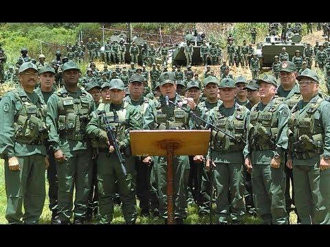 Vladimir Padrino lee nuevo comunicado sobre 41 Brigada Blindada, 7 agosto 2017