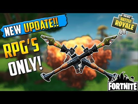 NEW EXPLOSIVE GAME MODE - RPG's!!  -  Fortnite Funny Fails and WTF Moments! #16 (Daily Best Moments)