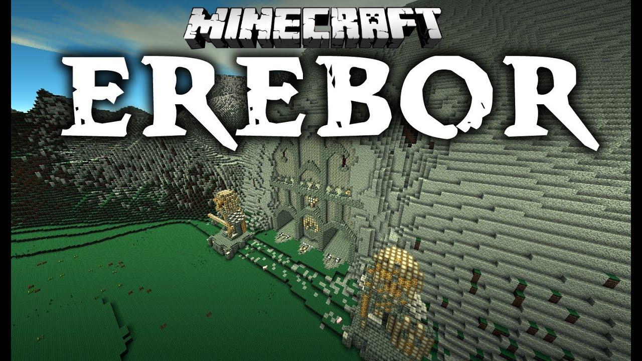 Erebor Minecraft Cinematic  YouTube