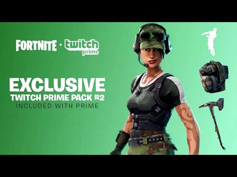 NEW HOW TO GET FREE TWITCH PRIME SKINS & ITEMS! - Fortnite. Battle Royale