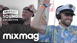SOLARDO tech-house DJ set on the #SmirnoffHouseboat, Hideout 2017