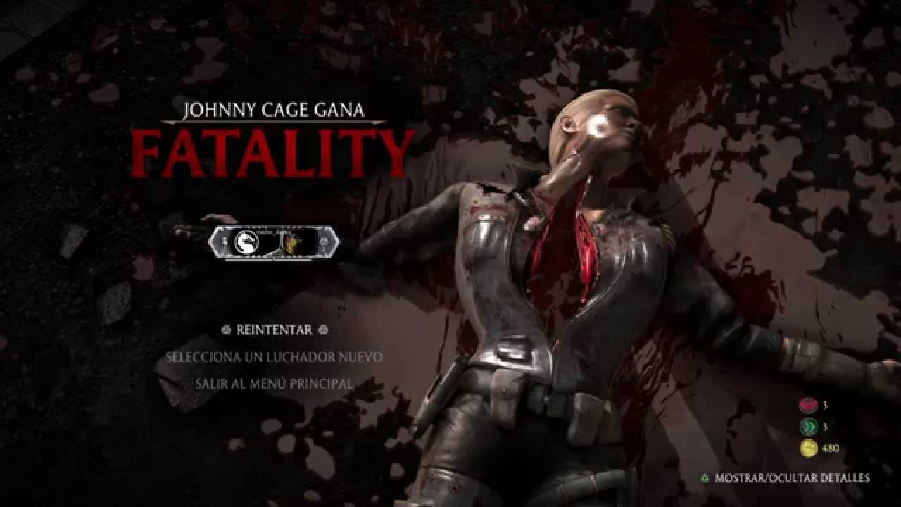 Mkx Johnny Cage And Sonya