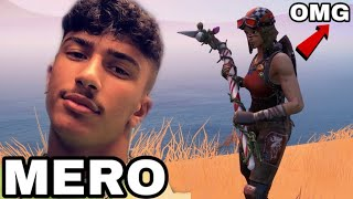 MERO 428 FAKE challenges RENEGADE RAIDER for its ACCOUNT and what happened..! (Fortnite)