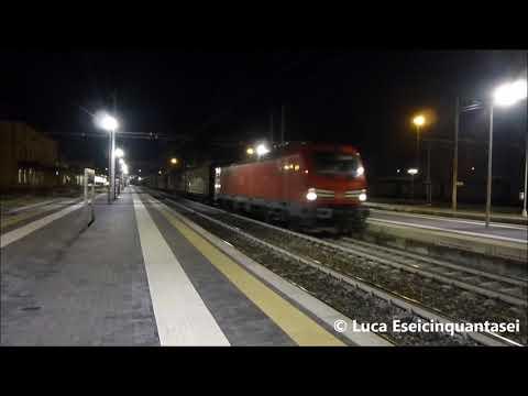 """E191.017 """"Vectron"""" DB Cargo Italia al traino del MRS Torino Orb. - Chiasso Sm: in transito a Novara"""