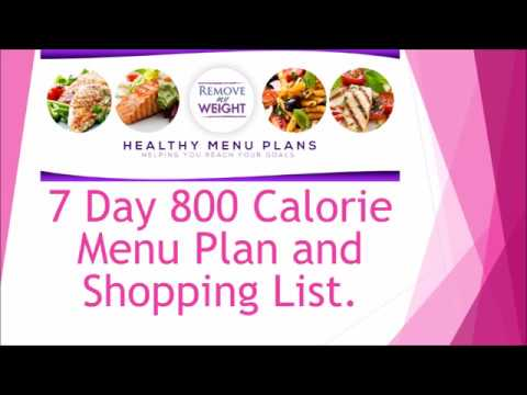 800 Calorie Meal Plan To Lose Weight Free Printable And Shopping