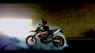 Summertime 2015 //  KTM SMC R 690 // Crash // Fail // Angry guy // Cops // Wheely // Sumo fighters