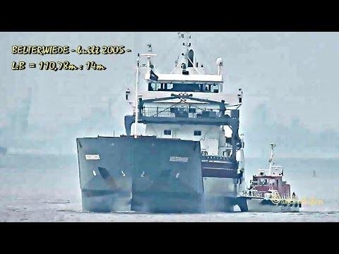 coaster BELTERWIEDE PHCM IMO 9313797 Emden cargo seaship merchant vessel KüMo Seeschiff pilot Lotse