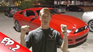 Will a MUSTANG Hit The Crowd!? - Cleetus' Garage Ep. 2