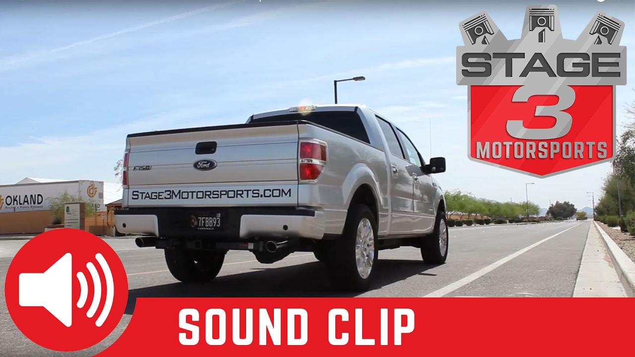 2011 2014 f 150 ecoboost mbrp dual exit cat back exhaust sound clip