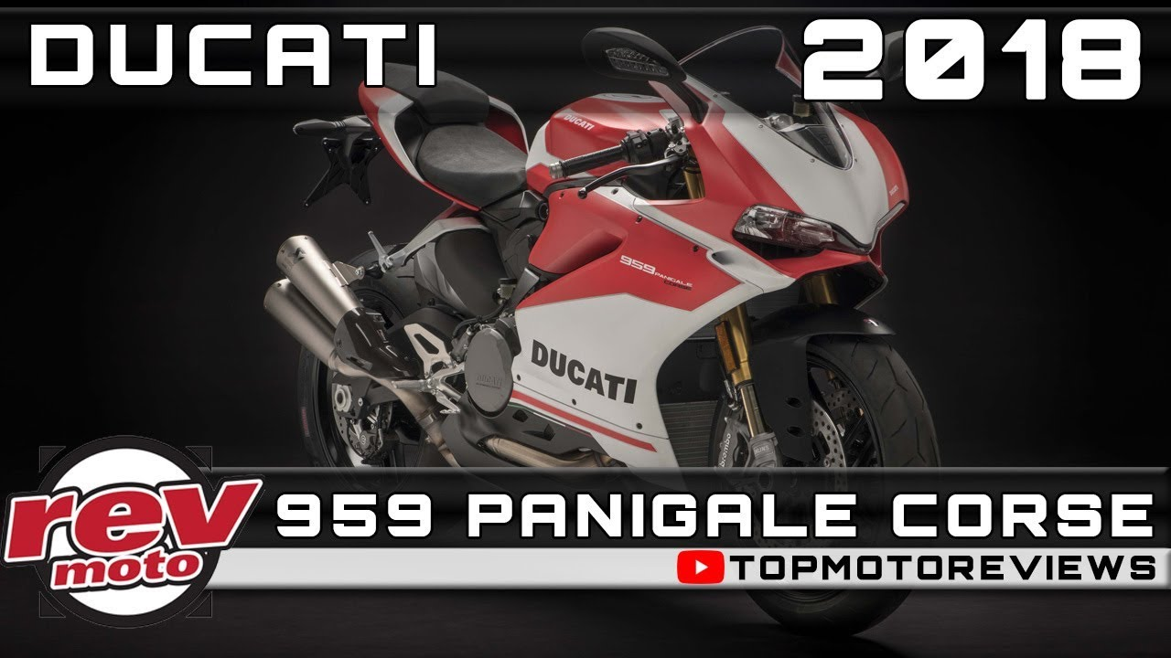 2018 Ducati 959 Panigale Corse Review Rendered Price Release Date