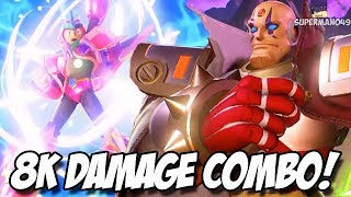8,000 Damage Combo With Sigma & X! - Marvel Vs Capcom Infinite: Sigma And Megaman X Gameplay