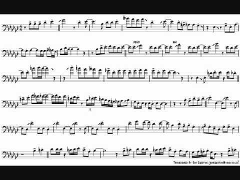 Dennis Rollins 'Shake It Down' Trombone Solo Transcription