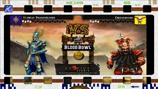 Blood Bowl Round 5 1st Half Dragonbloods Vs Cheeseboard