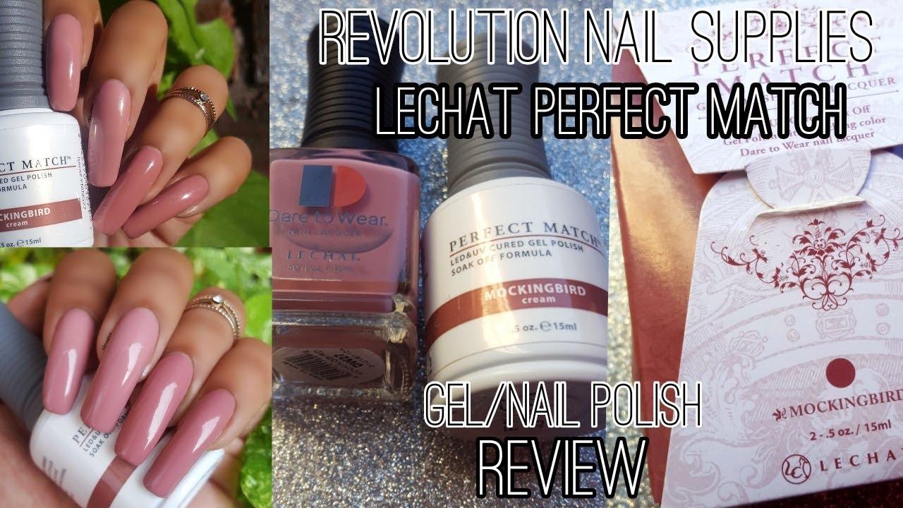 Revolution Nail Supplies Lechat Perfect Match Gel Lacquer Set Review