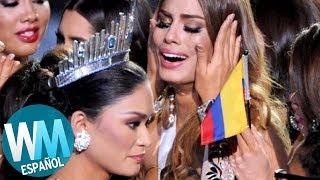 ¡Top 10 FAILS de Misses LATINAS!
