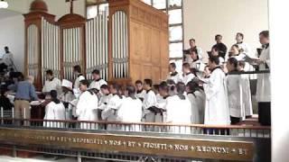 2 misa San Eduardo Gloria,  Seminario de Guadalajara, Schola Cantorum