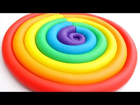 Learn Colors Play Doh Ice Cream Popsicles DIY Play Doh Compi