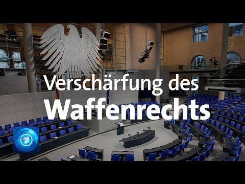 Waffenrecht Bundestag