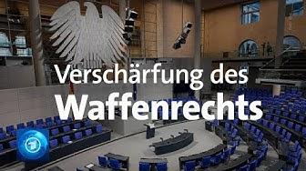 Bundestag diskutiert Waffenrecht: Waffe nur nach Verfassungsschutz-Check?