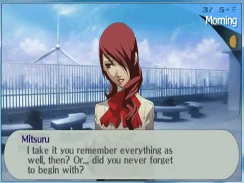 persona 3 portable mitsuru ending a relationship