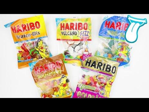 5 NEUE HARIBO SORTEN, die DU probieren musst oder auch nicht | Yoshi macht den TEST | IN ALLER MUNDE