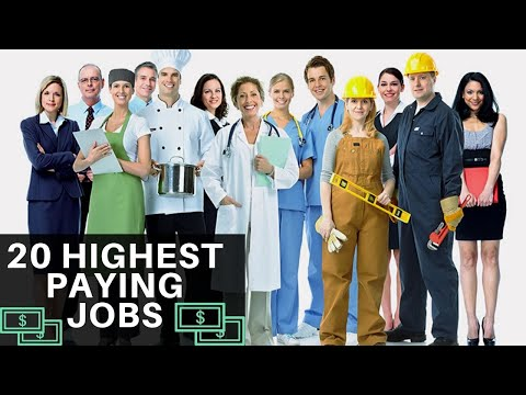 20 Highest Paying Jobs and Careers with Most Earnings | 2020