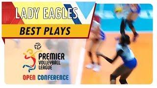 PVL OC 2018: Ponggay Gaston delivers killer cross-court kill vs Iriga-Navy | ADMU | Best Plays