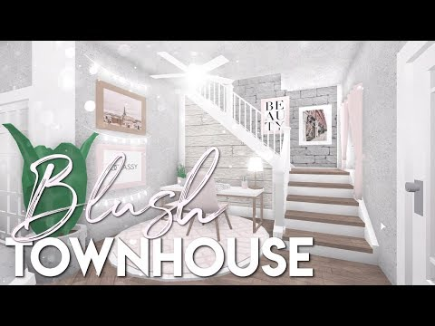 BLOXBURG| Blush Townhouse 34k