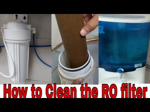 How to Clean RO filter#How to service your RO water system in  Hindi#How to RO Service#Ro Repair.