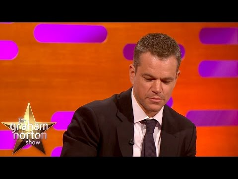Matt Damon Gets Emotional Talking About Winning An Oscar - The Graham Norton Show